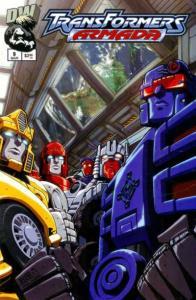 Transformers Armada #12, NM (Stock photo)