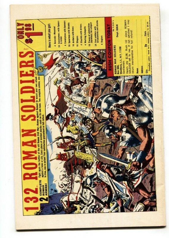 Captain America #104 1968- Red Skull- Jack Kirby- Silver Surfer #1 ad- VF+