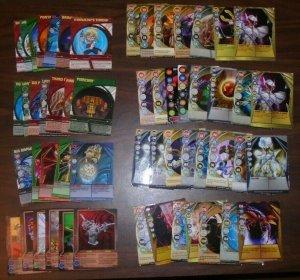 55 Bakugan Card Lot 30 Magnetic, 25 Non-Magnetic