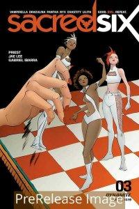 SACRED SIX (2020 DYNAMITE) #3 All 16 Covers PRESALE-09/09