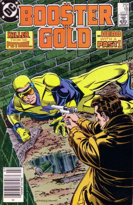 Booster Gold #18 VF/NM DC - save on shipping - details inside