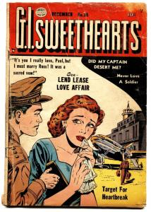 G.I. Sweethearts #36 comic book 1953-Quality-spicy romance-glossy cover