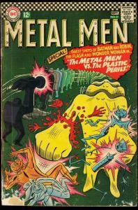 METAL MEN #21-DC-ROBOT COVER-1966 G