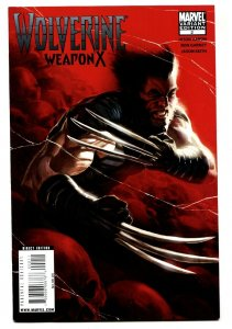 WOLVERINE Weapon X #2-2009 comic book Marvel VARIANT cover