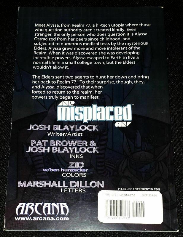 Misplaced Graphic Novel (Arcana) VF