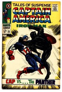 TALES OF SUSPENSE #98 comic book Black Panther cover-Silver-Age 1968 vf-
