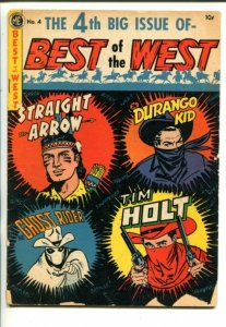 BEST OF THE WEST #4 1952-ME-GHOST RIDER-TIM HOLT-STRAIGHT ARROW-good