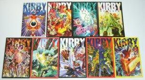 Jack Kirby: Genesis #0 & 1-8 VF/NM complete series - all alex ross variants set