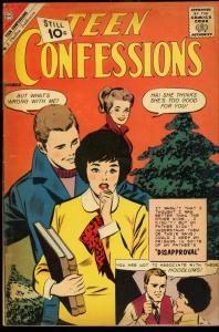 TEEN CONFESSIONS #14-TORRID CHARLTON ROMANCE VG/FN