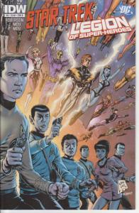 Star Trek/Legion of Super-Heroes #2B VF/NM; IDW | save on shipping - details ins