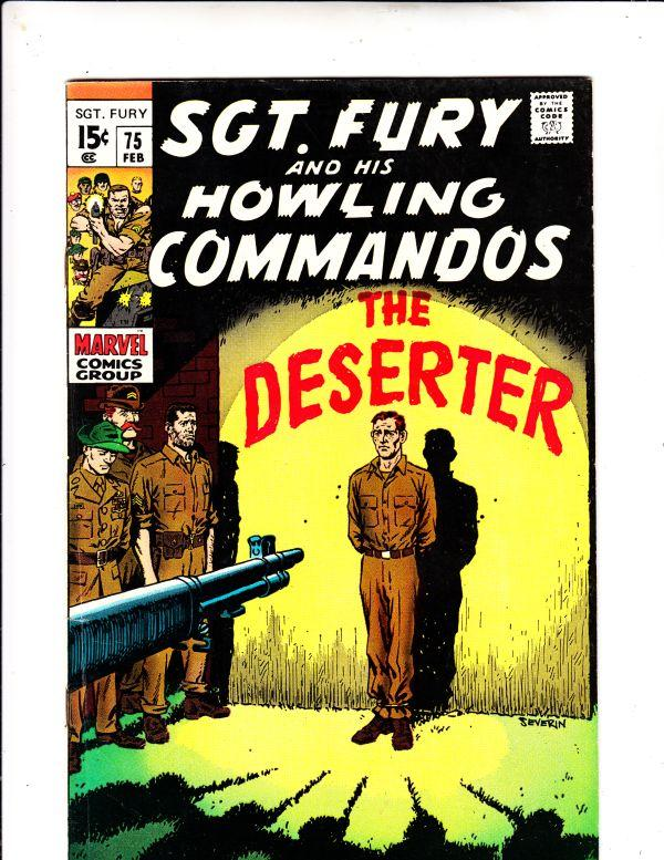 Sgt. Fury and His Howling Commandos #75 (Jan-70) VF/NM High-Grade Sgt. Fury, ...