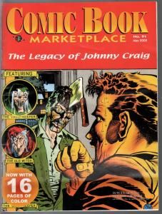 Comic Book Market Place #91 3/2002-Johnny Craig-EC comics-VF