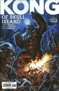 Kong of Skull Island #1 VF; Boom!   save on shipping - details inside