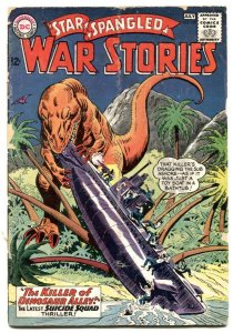 Star Spangled War Stories #121 1965- Dinosaur- Suicide Squad FR