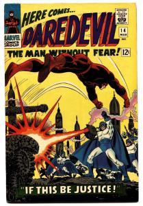 DAREDEVIL #14 comic book 1966 MARVEL COMIC BOOK KA-ZAR JOHN ROMITA