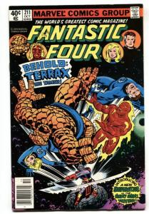 FANTASTIC FOUR #211 First  appearance of Terrax-Galactus VF/NM