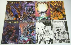 Totem #1-8 VF/NM complete series - mario gully - big city comics variants set