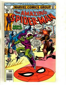 Lot Of 5 Amazing Spider-Man Marvel Comic Books # 177 178 179 180 181 Goblin GK5