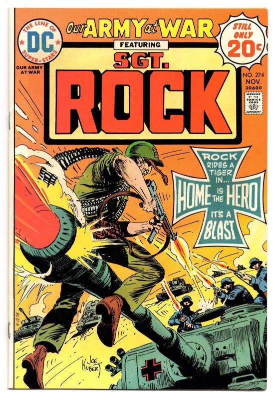 Our Army at War #274 (Nov 1974, DC) - Very Fine+/Near Mint-