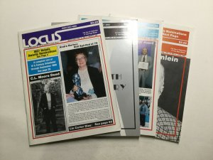 Locus Magazine 326-335 1988 Magazine Lot Very Fine Vf 8.0 Waren Publishing