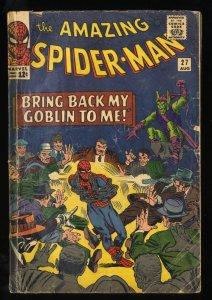 Amazing Spider-Man #27 GD 2.0 Green Goblin! Marvel Comics Spiderman