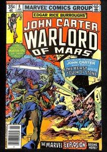 John Carter Warlord of Mars #8 (1978)