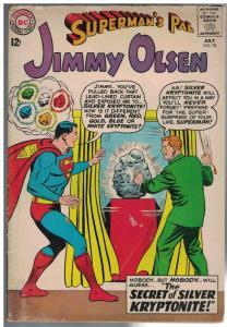 JIMMY OLSEN 70 GD-  July 1963 COMICS BOOK