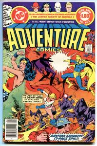 ADVENTURE COMICS #463 1979-JUSTICE SOCIETY OF AMERICA