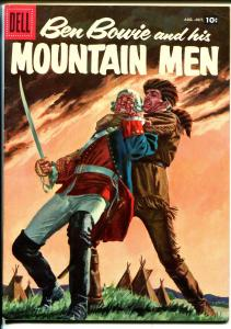 Ben Bowie and His Mountain Men #12 1957-Dell-painted cover-VF/NM