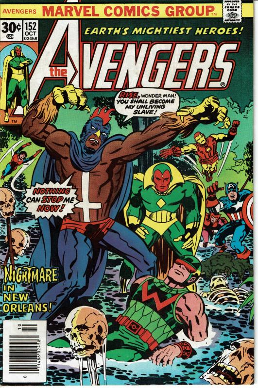 Avengers #152, 8.0 or better, First Appearance Black Talon