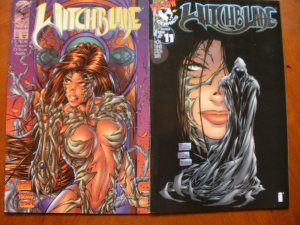 2 Image Top Cow Comic: WITCHBLADE #8 #11 (1996) Wohl Turner D-Tron Smith