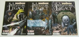 R.A. Salvatore's Forgotten Realms: the Legacy #1-3 VF/NM complete series A set