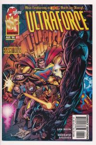 2x UltraForce #11 - Malibu comics VF/NM (HX112)