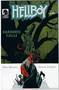 HELLBOY DARKNESS CALLS #3, NM, Mike Mignola, Duncan Fegredo, 2007, more in store