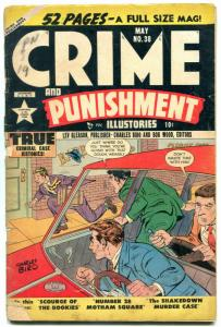 Crimes and Punishment #38 1951- Golden Age- Fred Guardineer G