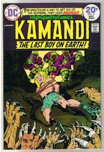 KAMANDI #17, VG+, Jack Kirby, Last Boy on Earth, 1972, more JK in store