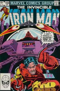 Iron Man (1st Series) #169 FN; Marvel   save on shipping - details inside