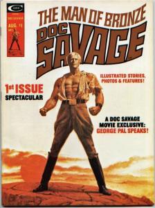 Doc Savage (Magazine) #1 NM- 9.2 Movie; Buscema, John Romita
