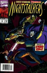 Nightstalkers #9 (Newsstand) FN; Marvel   save on shipping - details inside