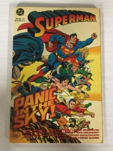Superman Panic In The Sky TPB VF Very Fine DC Comics Dan Jurgens Jerry Ordway