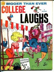 College Laughs 12/1963-Marvel-Vic Martin-Orehek-Severin-Wenzel-Wyma-VG
