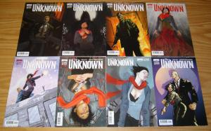 the Unknown #1-4 FN complete series - all A & B variants - mark waid 8 comics