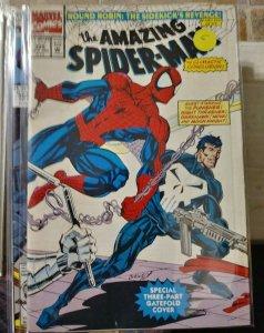 Amazing Spider-Man  #358 round robin pt 6 nova night thrasher moon knight punish