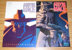 Kelvin Mace #1-2 VF- complete series - ty templeton - vortex comics set 1985