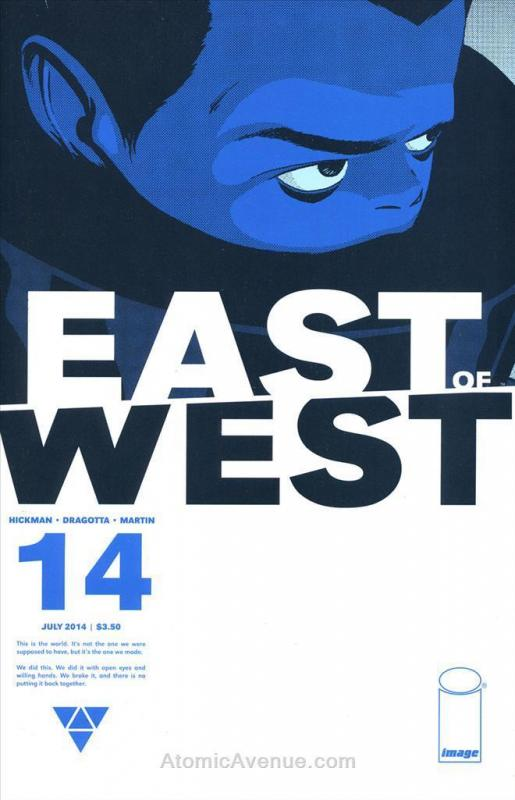 East of West #14 VF/NM; Image | save on shipping - details inside