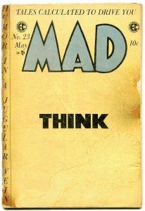 MAD #23 1955-EC-final comic book format-Wally Wood-Jack Davis-FAIR