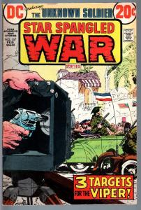 STAR SPANGLED WAR STORIES #167-1973-DC WAR COMIC-BRONZE AGE-VG VG