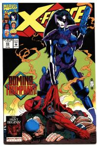 X-FORCE #23-DEADPOOL-DOMINO-MOVIE COMING!--HIGH GRADE-MARVEL!