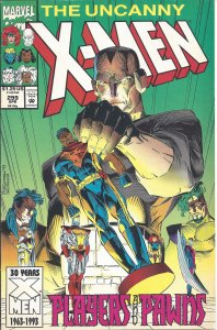 Uncanny X-Men #299 (Apr 1993) - Players and Pawns - Jean Grey, Storm, Cyclops