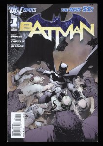 Batman (2011) #1 NM- 9.2 1st Print